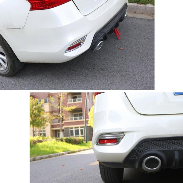 Chrome Rear Bumper Reflector Cover Trim For Nissan Sentra