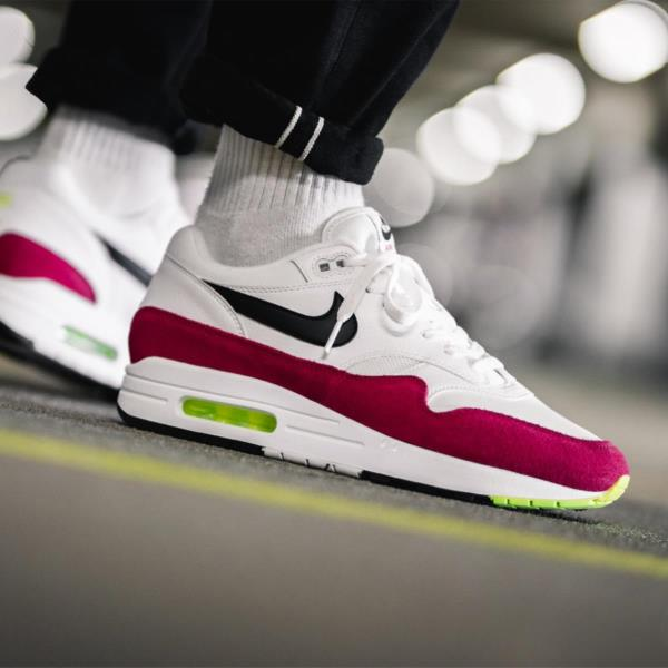 fashion styles autumn shoes info for Details about Nike Air Max 1 Red Size 8 9 10 11 12 Mens Shoes AH8145-111  Force Vapor