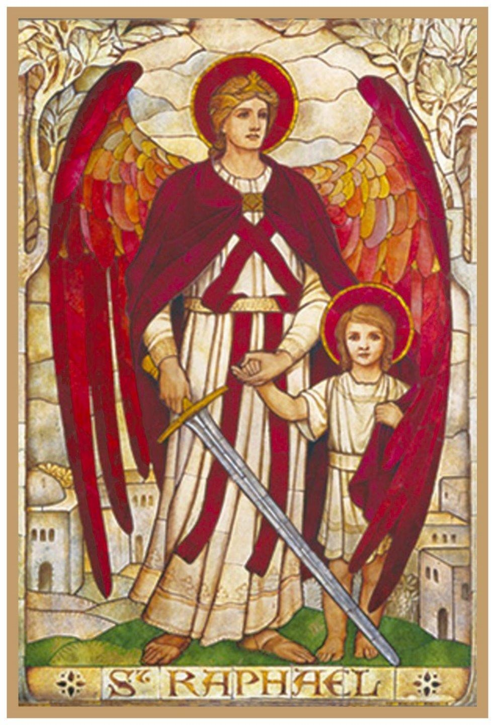 Archangel Gabriel by Powell /& Sons Counted Cross Stitch Pattern