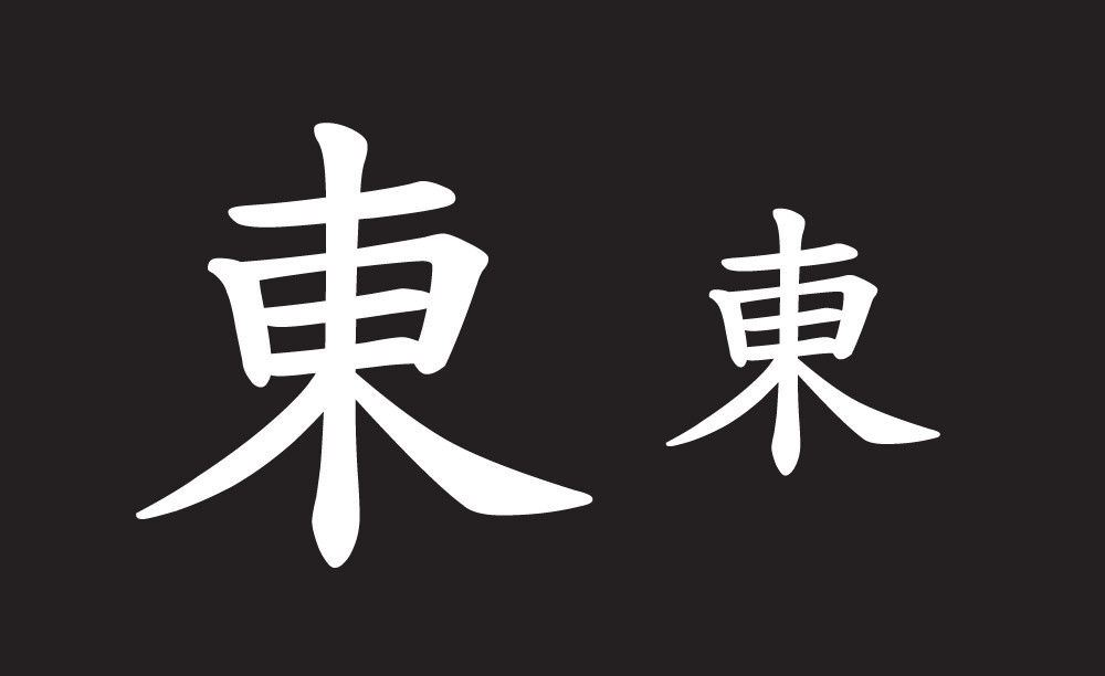 Beauty Beautiful Japanese Kanji Decal Sticker Emblem 11