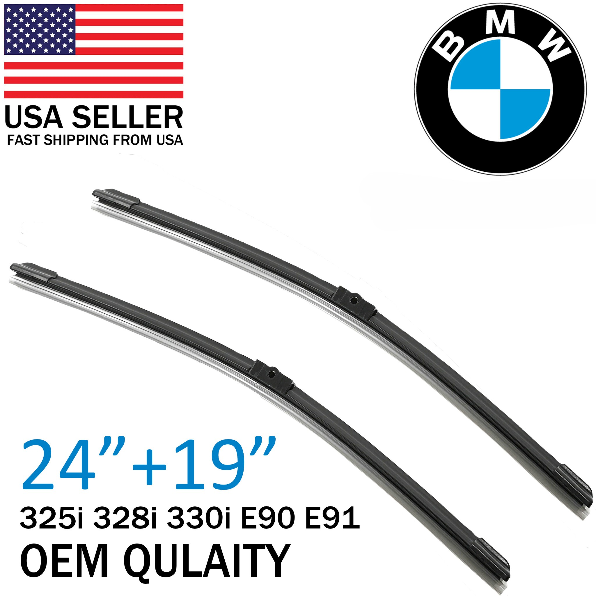2013 Bmw 328I Windshield Replacement Cost details about top oem quality wiper blades for bmw e90 e91 325i 328i 330i  2006-2009