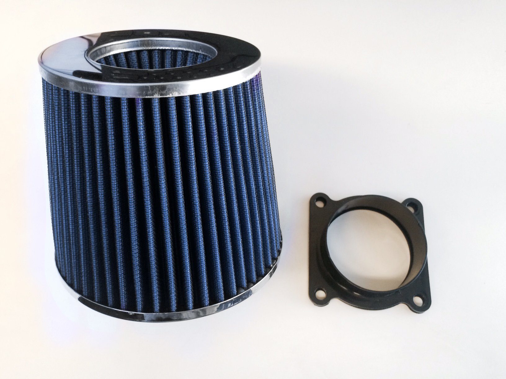 """3.5/"""" Cold Air Intake Filter Universal BLACK For All Mustang All Models"""