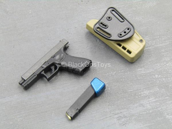 9MM Pistol w//Holster Type 1 Urban Viking 1//6 scale toy PMC