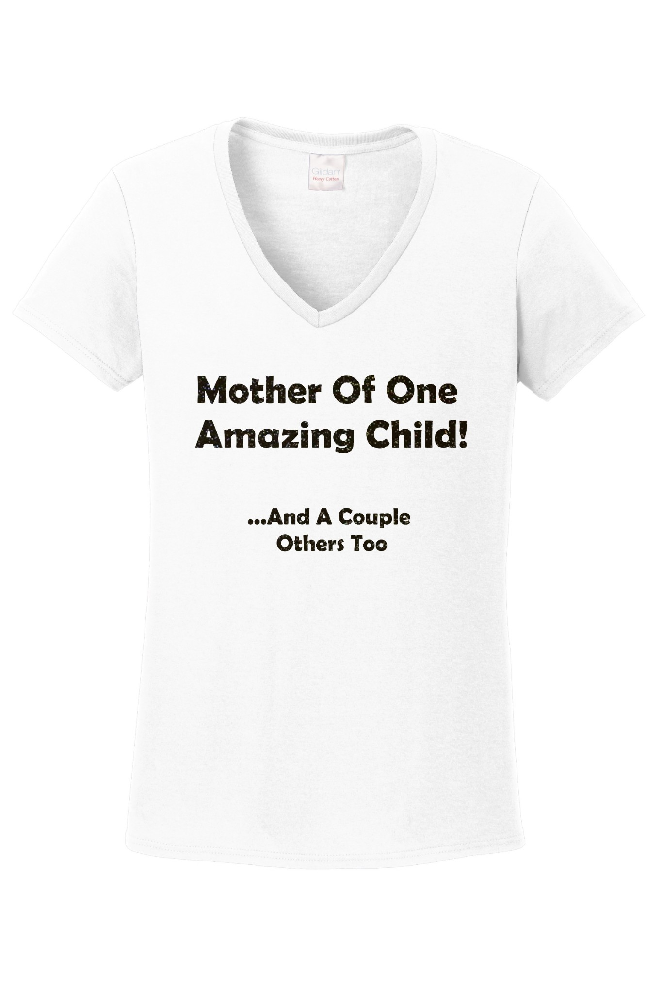Mothers Day Womens V-Neck T-Shirt