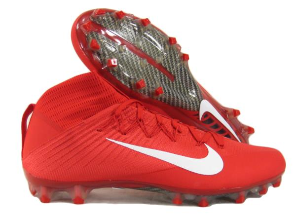Nike Mens Vapor Untouchable 2 CF Football Shoe M 11.5 D US, White//Team Crimson