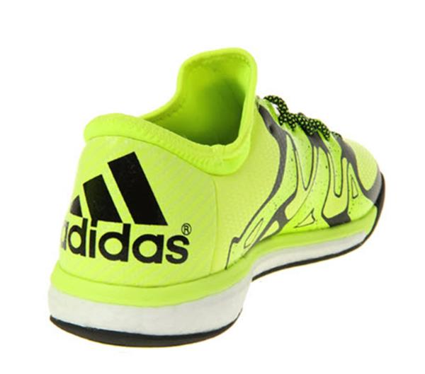 Details about Adidas Men X 15.1 Boost Indoor Yellow Futsal Soccer Shoes Boot Shoes B25497
