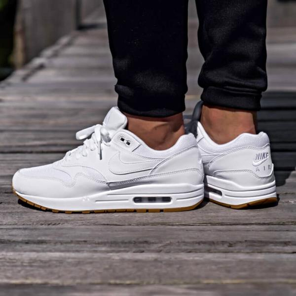 professional sale free shipping more photos Details about Nike Air Max 1 Sneakers White Gum Size 8 9 10 11 12 Mens  Shoes New