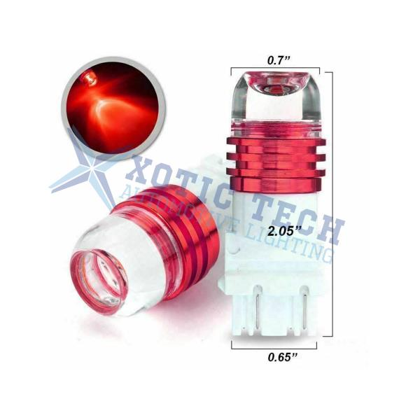 3157 Strobe Flashing Blinking Brake Tail Lights Bulbs For