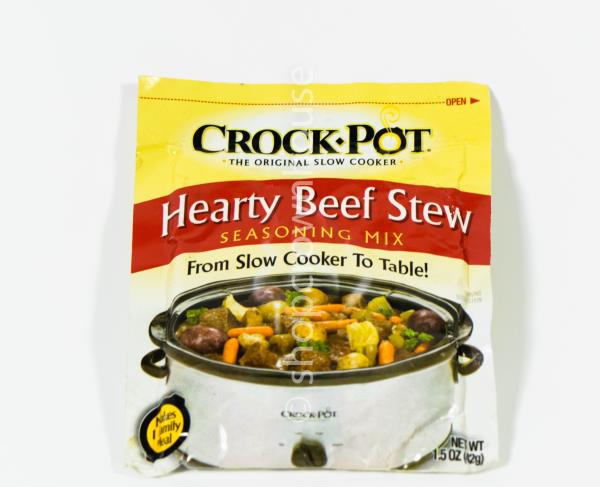 2 Crock Pot Hearty Beef Stew Seasoning Mix 1 5 Oz Per Packet 11 17 2021 47800514023 Ebay