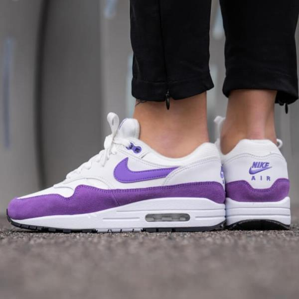 official site factory outlets exquisite style Details about Nike Air Max 1 White Size 6 7 8 9 Womens Shoes 319986-118  Force Presto