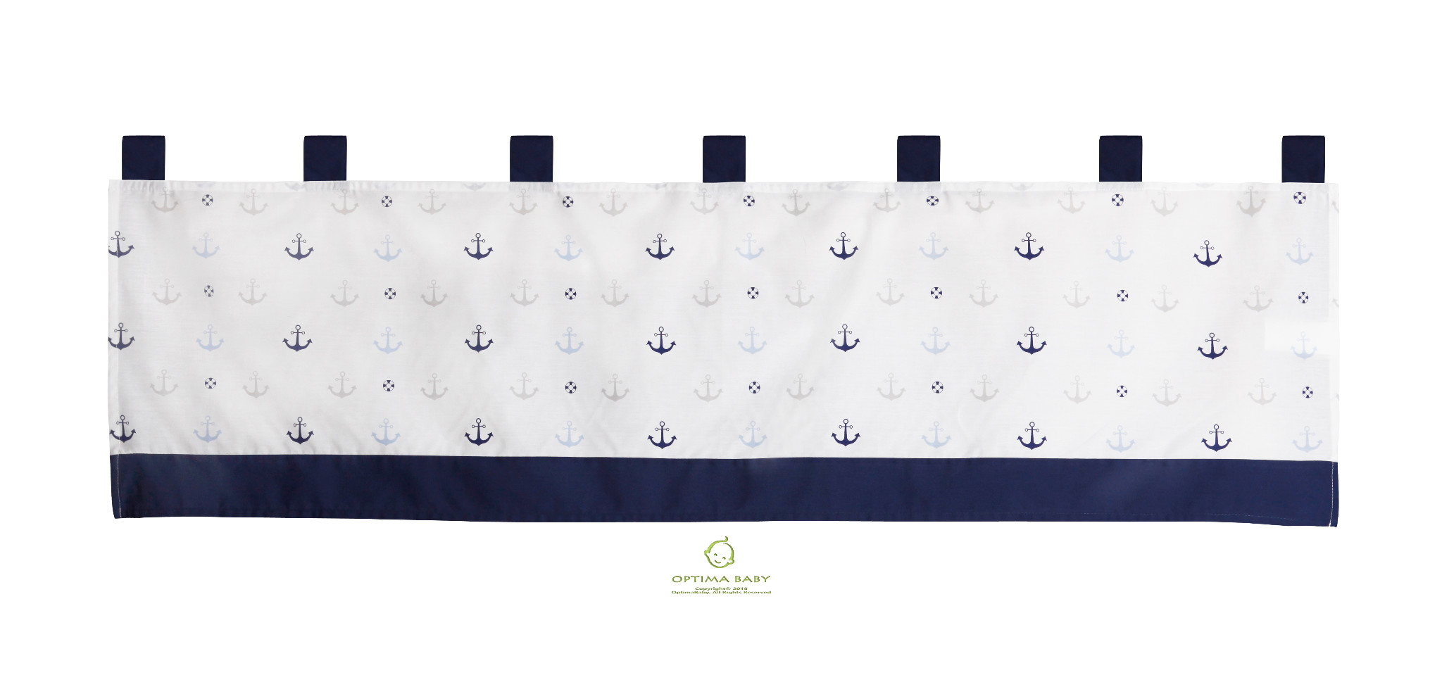 6-Piece Nautical Explorer Sail Baby Boy Nursery Crib Bedding Sets By OptimaBaby