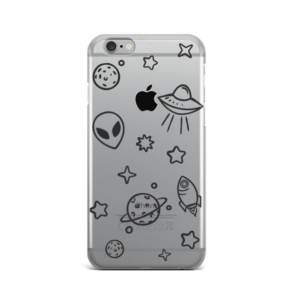 Details about Alien Phone Case iPhone X XR XS Max SIlicone Cover iPhone 6s  7 8 Plus Snap Case