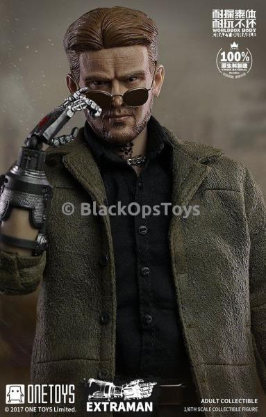 Disguiser 1//6 Scale Toy Metal Gear Solid Male Base Body w//Robotic Arm