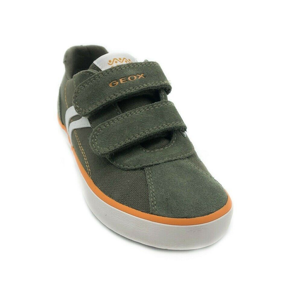 tabaco coreano cigarro  Geox Boy Junior Kilwi Trainers Military/Orange | eBay