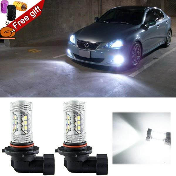 Details About For Lexus Is250 Es350 Ls460 Rx350 Xenon White Projector Lens Led Fog Light Bulbs