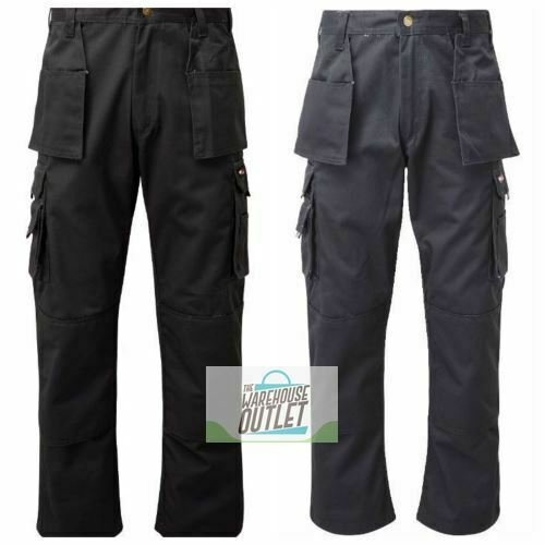 TuffStuff PRO WORK Trouser PREMIUM Combat Cargo Style With Knee Pad Pouches 711