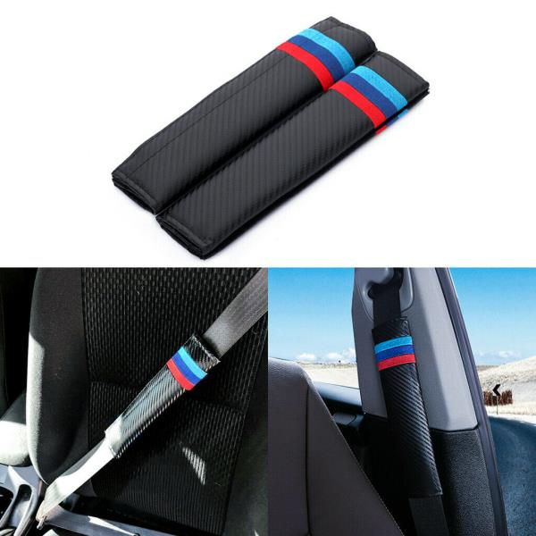 Cadillac New Car Seat Belt Covers Shoulder Pads Pair for Select Brands