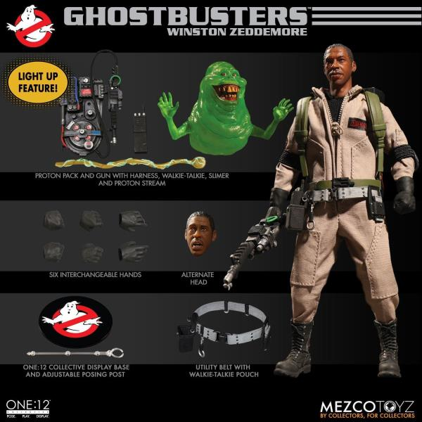 1//12 Scale Toy Zeddemore Male Body Set Ghostbusters