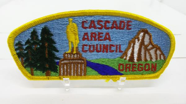 Cascade District 1996 Camporee patch Chief Seattle Council