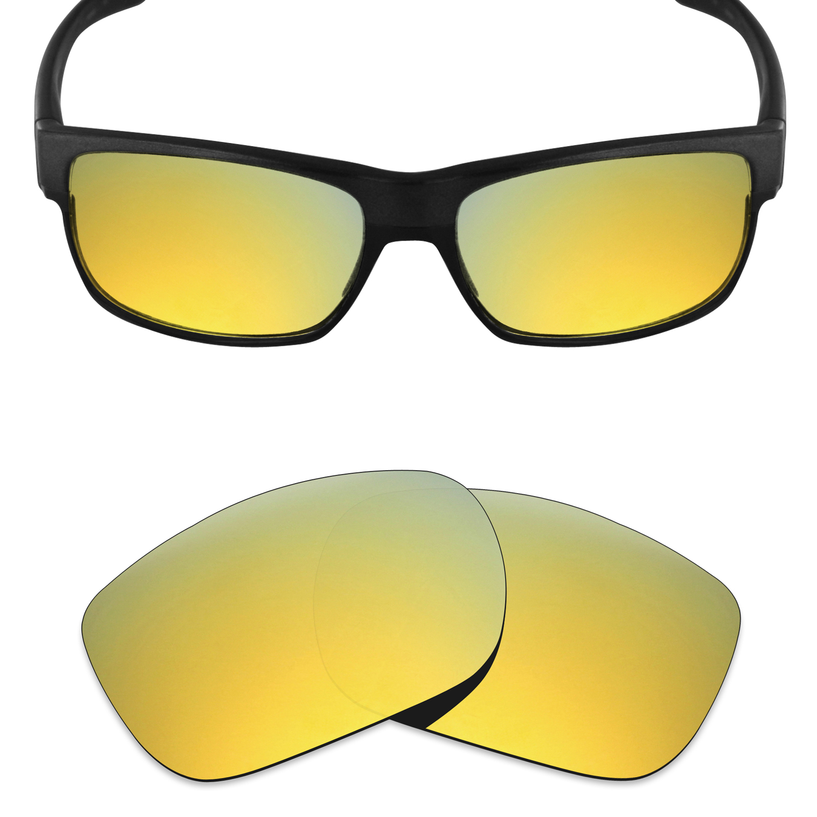 Mryok POLARIZED Replacement Lenses for RB 3025 58mm Sunglasses Option Colors
