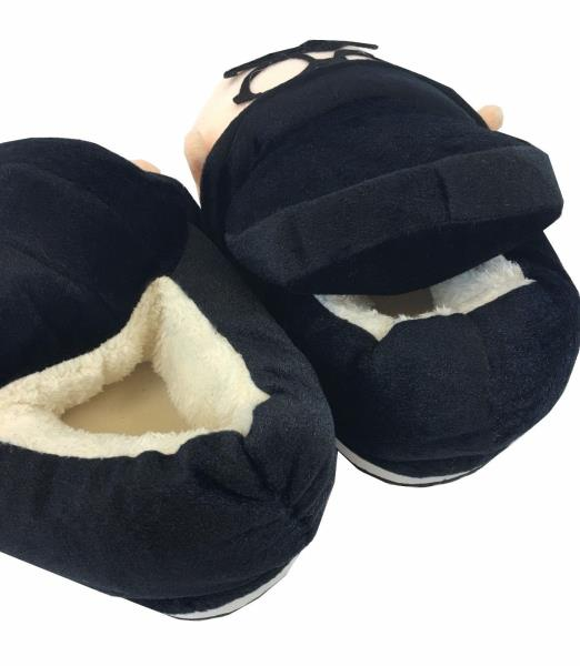 Men/'s Boy/'s Cute Winter Warm Soft Plush Antiskid Indoor Outdoor Home Slippers