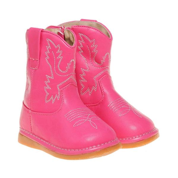 Light Brown Cowboy//Cowgirl Boots Up to Size 10 Toddler Boots Squeaky Boots