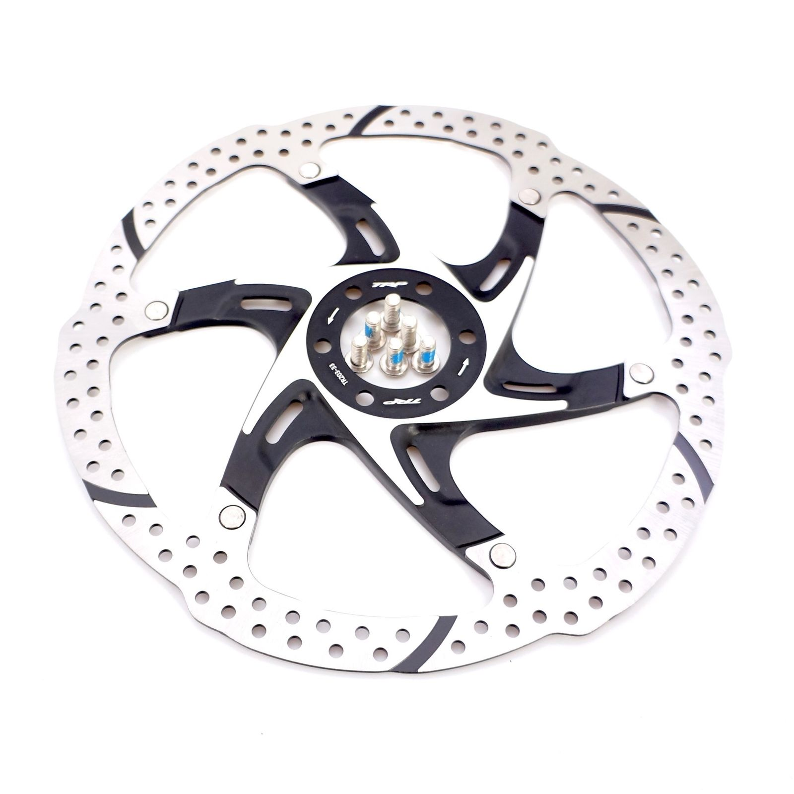 180mm The TRP TRP-13 2 Piece Rotor For MTB Road Bike Black