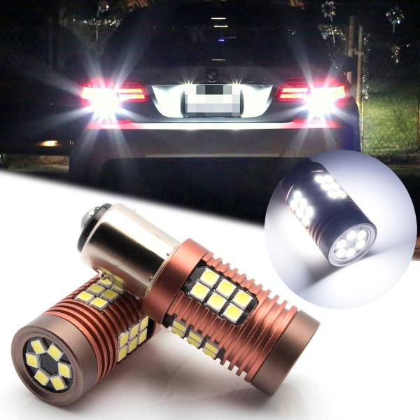 Super Bright 58-SMD with Projector Replacement for Backup Reverse//Turn Signal Light Pack of 2 VANSYROY 1157 2057 2357 7528 2057A 1157A LED Bulb Xenon White Brake Stop Tail//Parking Running Lights