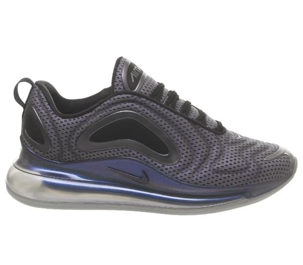 Details about Nike Air Max 720 Trainers Black Size 8 9 10 11 12 Mens Shoes