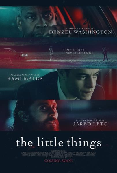 Some things never let us go Offical The Little Things Movie Poster
