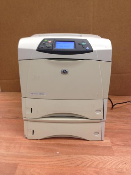 Q2434A HP LASERJET 4300 DTN LASER PRINTER LOW PAGE COUNT 50,000 OR LESS WARR