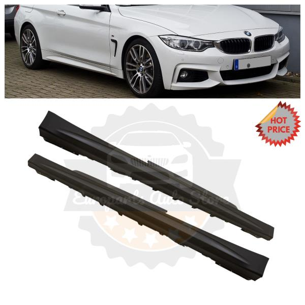 14-18 F32 F33 4 SERIES COUPE CONVERTIBLE MTECH MSPORT PERFORMANCE SIDE SKIRTS