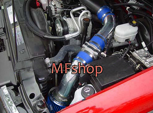 BLUE 1996-2005 CHEVY S10 BLAZER 4.3 4.3L AIR INTAKE KIT INDUCTION SYSTEMS BLUE