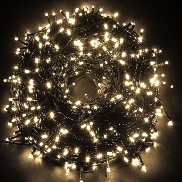 Lalapao Battery Operated 200 Led String Lights Fairy Christmas Outdoor Lighting