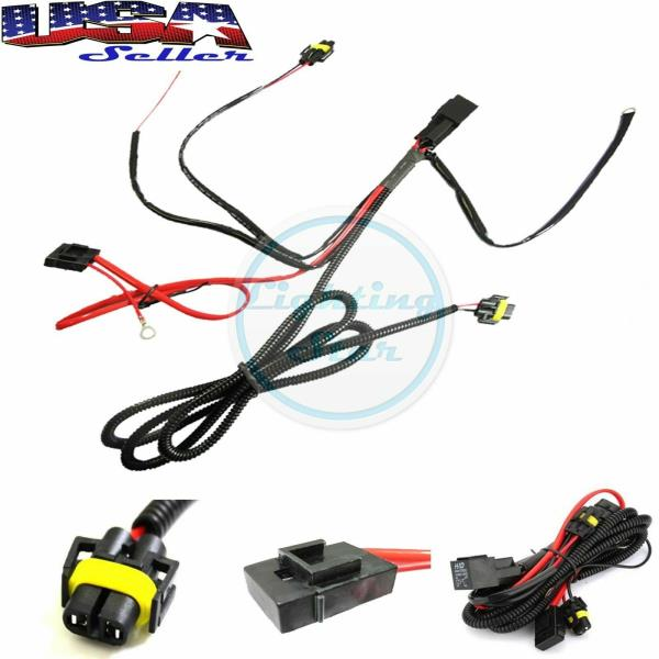 880 H8 H11 Relay Wiring Harness Kit For Fog Light, HID Conversion, LED DRL  | eBayeBay