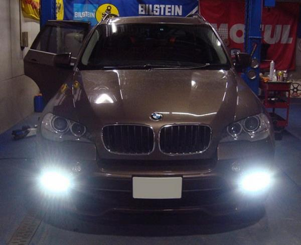 For 11-13 BMW X5 DNA Motoring DRL-LED-F-011 Day Time Running Light
