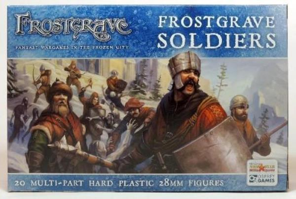 FROSTGRAVE Frostgrave Soldiers II Plastic Box Set 28mm Fantasy FGVP05