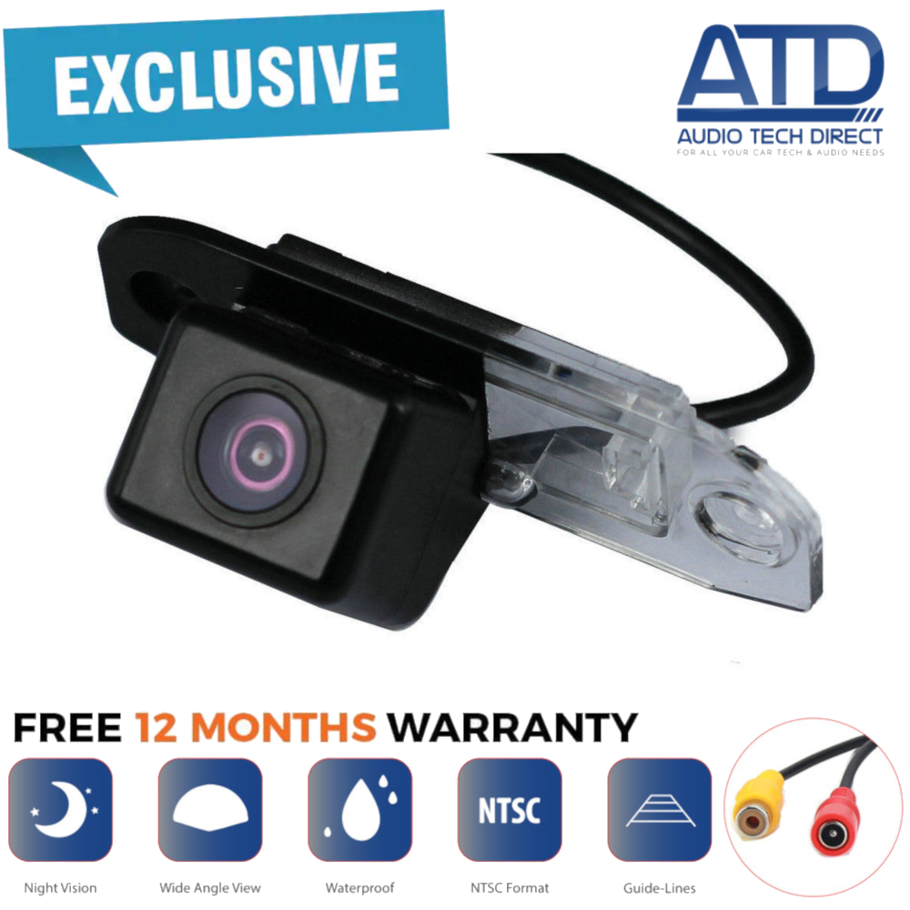 Direct Fit Rear View Reversing Reverse Camera For Ford Focus Mk2 C3 2004-2009