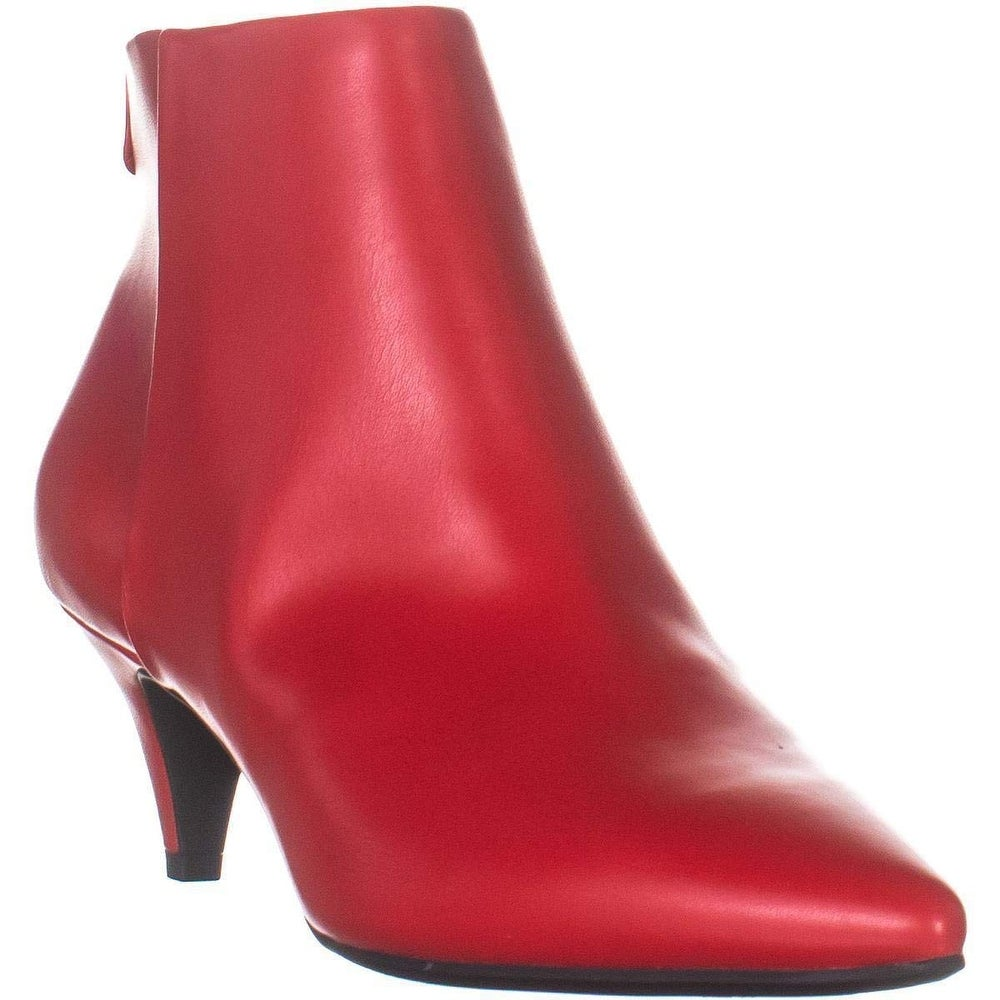 Candy Red Size 6.0 Circus by Sam Edelman Womens Kirby Pointed Toe Ankle