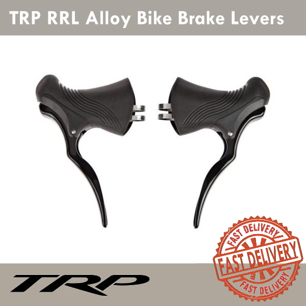 TRP RRL Alloy Black Brake Levers Road Bike Fixed Gear 23.8mm /& 24.2mm