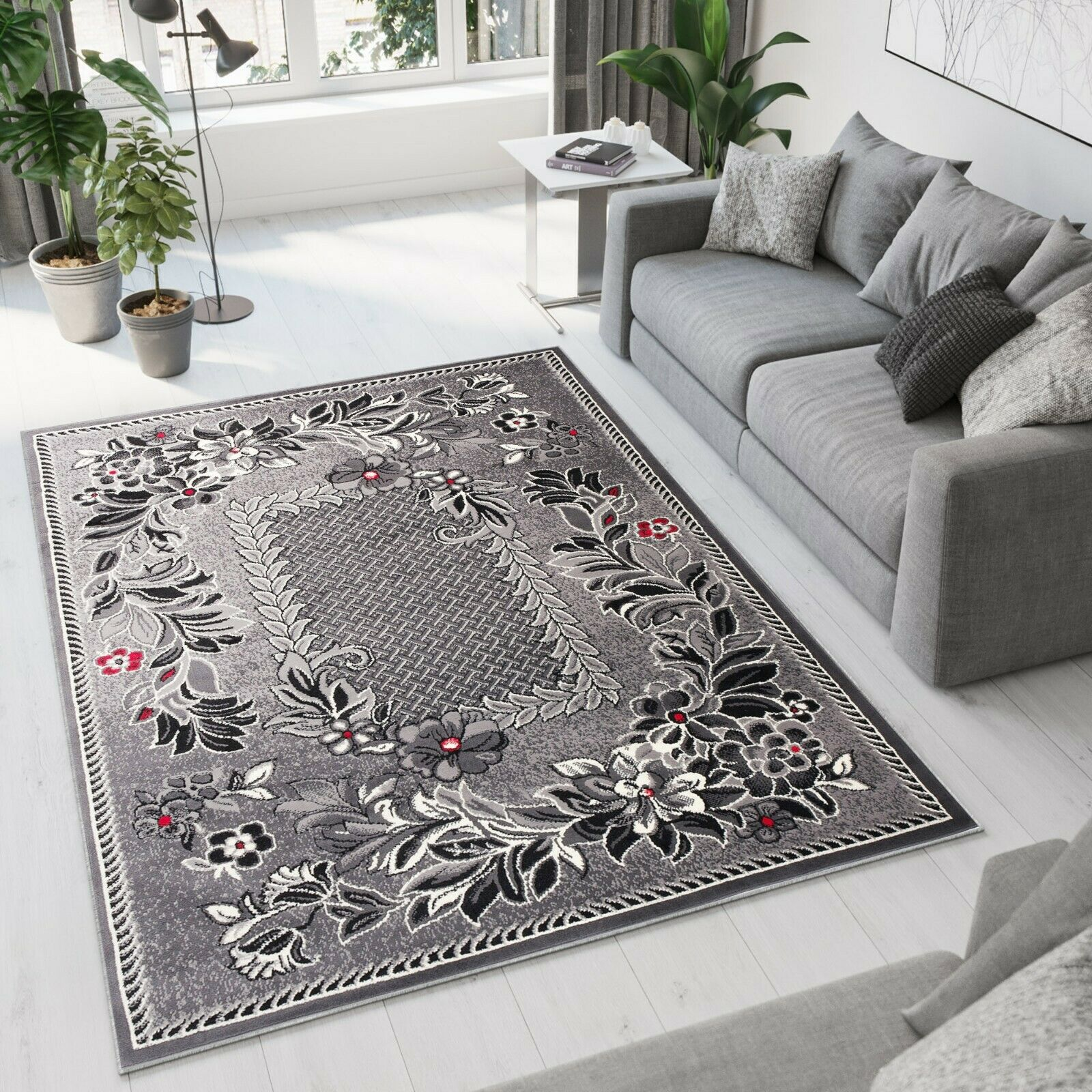 BROWN Different Sizes TAPISO BEAUTIFUL MODERN RUGS TOP DESIGN LIVING ROOM