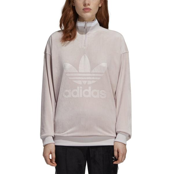 adidas Originals Women's Half Zip Sweatshirt