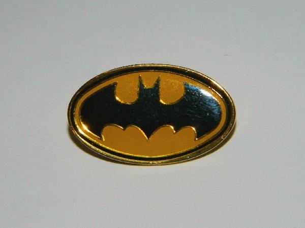 NEW UNUSED Batman Comic Book Bat Chest Logo Large Embroidered Jacket Patch