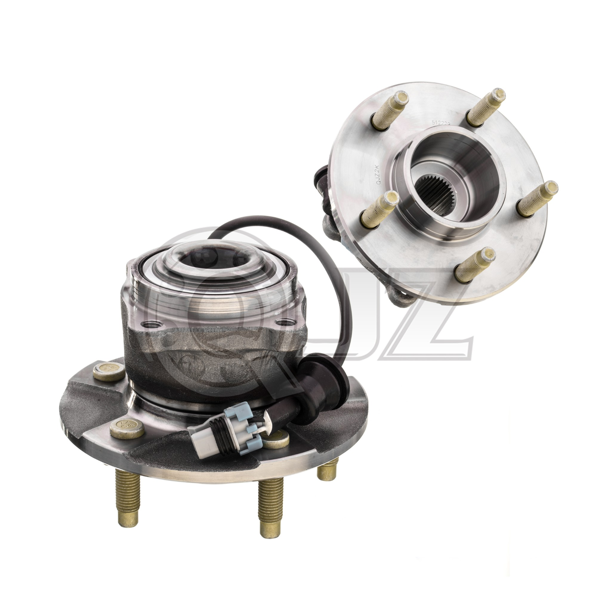 ; FWD; With 4-Wheel ABS PROFORCE 512222 Premium Wheel Bearing and Hub Assembly Rear