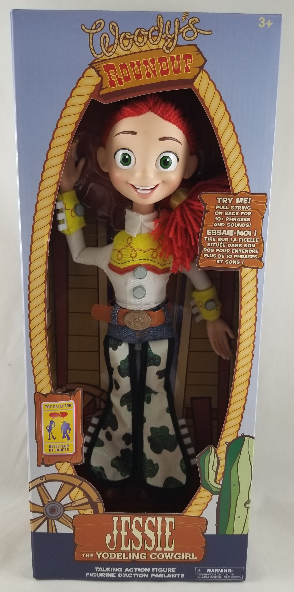 Disney Store Toy Story Interactive Talking Jessie Pull String Doll Action  Figure   eBay