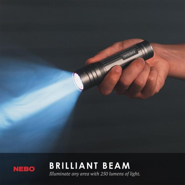 **NEW** iPROTEC 1000 LUMEN BAT LIGHT by NEBO Tools /& ASG
