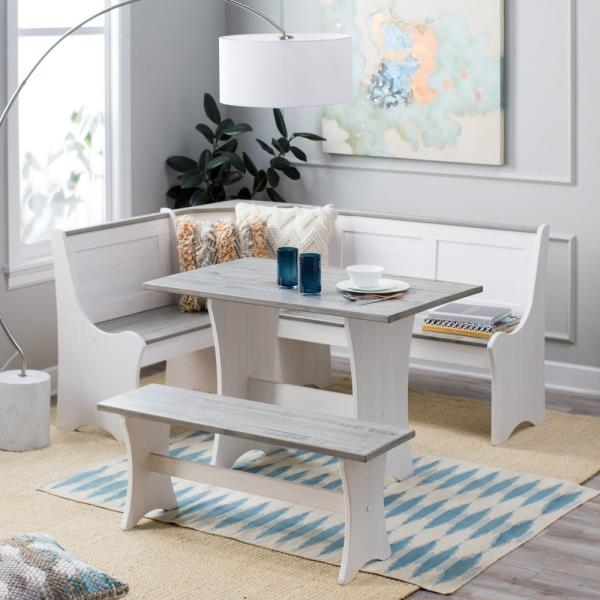 Kitchen Dining Table Bench Set Off 70
