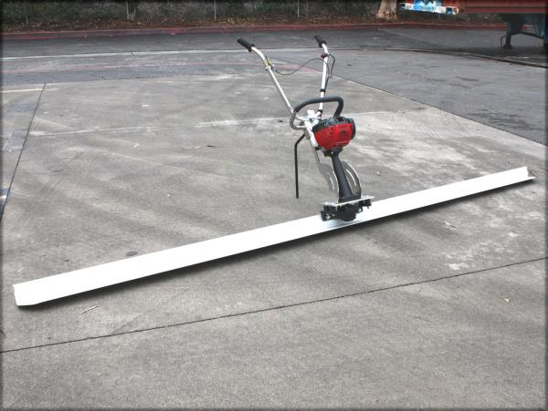 12ft Blade Board Gas Power Vibrating Concrete Power Screed