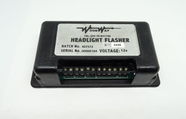 "Whelen SSFPOS heavy duty /""headlight flasher/"" positive flasher unit 12V Woodway"