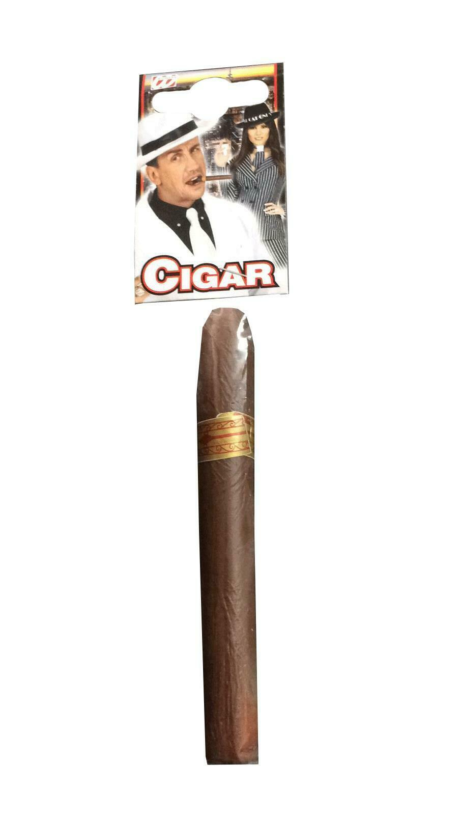 FAKE CIGAR FANCY DRESS GANGSTER MEXICAN  ACCESSORY PROP